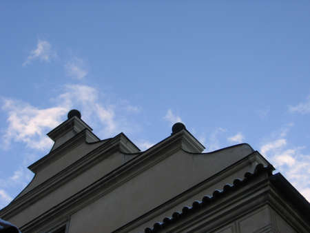 Prague Rooftop Banco de Imagens - 294204