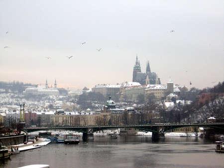 Prague in January
