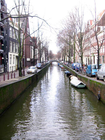 Amsterdam Canal Stockfoto