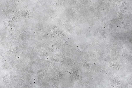 Grey concrete background, texture of grey stone, grey wall. Horizontal, copy space for text Stock Photo
