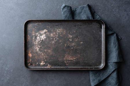Old rusty baking sheet background 版權商用圖片