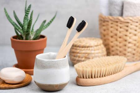 Bath and Spa accessories, zero waste concept
