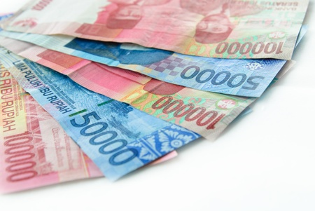 money in rupiah Stock Photo