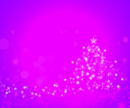 Merry Christmas pink background photo