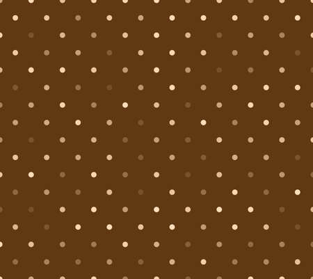 polka dot pattern: Colorful polka dot pattern on the cardboard