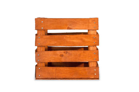 vintage wooden  crate photo