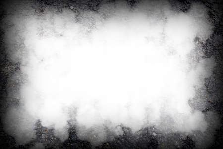 abstract black background, old black vignette border frame white gray background, Standard-Bild