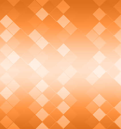 interesting: abstract orange geometric pattern