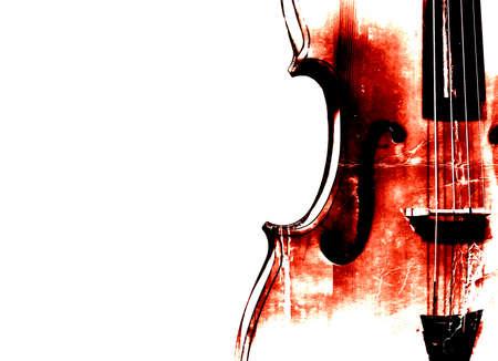 Cello retro background.