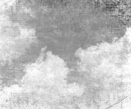 old paper texture: cloud on old paper texture background