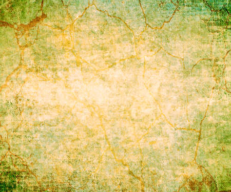 bright center: abstract green background or Christmas background with bright center spotlight and black vignette border frame with vintage grunge background texture green paper layout design colorful graphic art Stock Photo