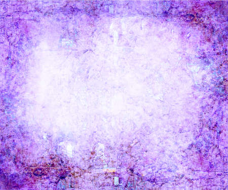 bright center: abstract pink background or purple paper with bright center spotlight and black vignette border frame with vintage grunge background texture pink paper layout design of light colorful graphic art