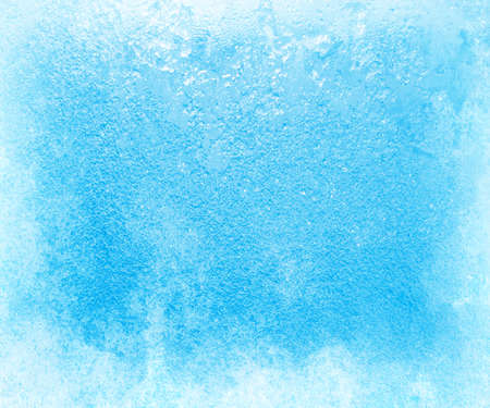 severe: Glass covered with ice during the severe frosts in winter Stock Photo