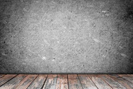 piso piedra: habitación interior de la vendimia con el fondo del piso de madera