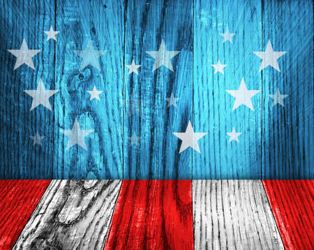 old flag: Vintage USA style background Stock Photo