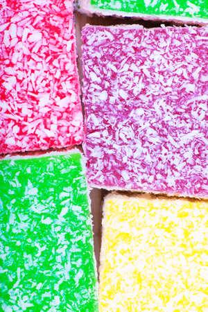 marmelade: Color marmelade candies close up