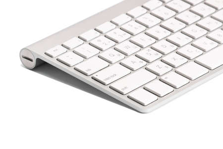 computer isolated: Computer keyboard. Isolated on white background