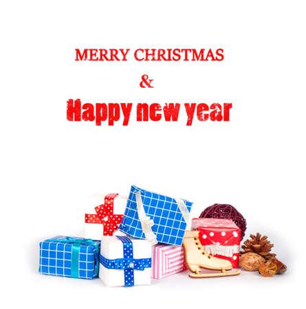 Decorate on Christmas isolated on white background Stock Photo