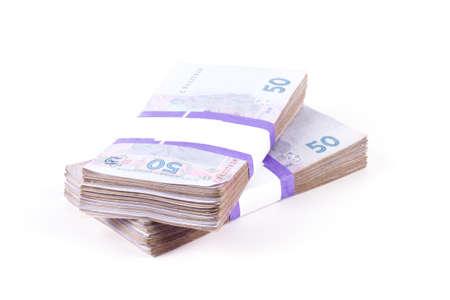 ukrainian: Composition with banknotes of ukrainian money