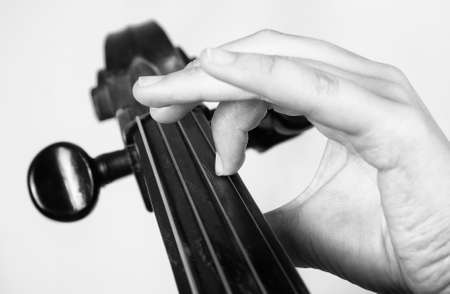 solo violinist: Man playing the cello. Classical music