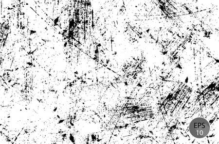Grunge Dust Speckled Sketch Effect Texture . The Scratch Texture .  イラスト・ベクター素材