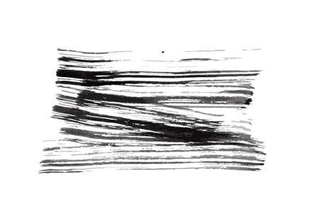 blot: Black ink blot. Element for design