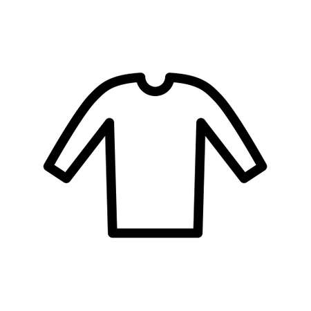 T shirt with hanger icon. Clothes icon. Illustration