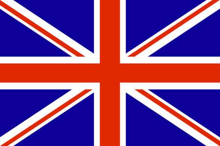 United Kingdom Flag. Vector illustration