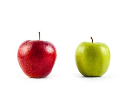 Frische Apfel Vor Zwei Alten Kantig Sind Lizenzfreie Fotos Bilder