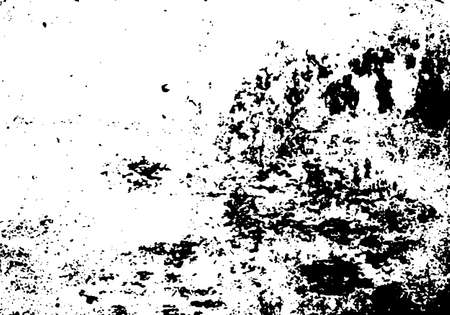 edges: Vector scratched texture. Grunge paper background. Black and white texture