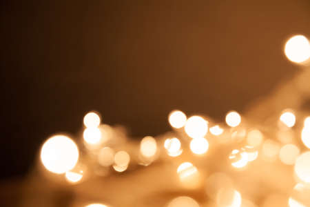 Abstract gold light background. Christmas background. Happy new year