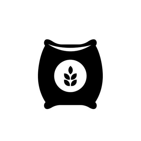 Seed sack icon. illustration isolated. vector sign on white