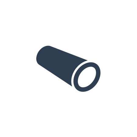 Rolled Metal Products Vector Icon on white background. Stock icon