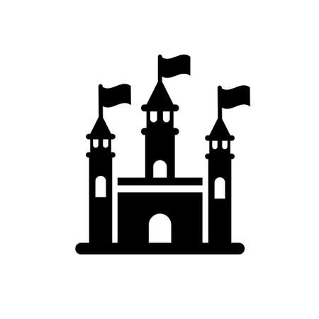 Kingdom park, Isolated Vector Icon which can be easily modified or edit