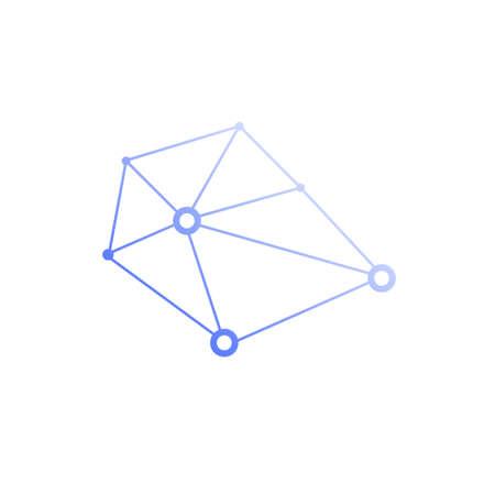 Creative idea concept design brain logotype vector icon. Illustration