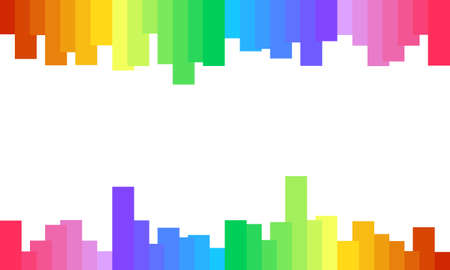 Colorful spectrum background, rainbow abstract. Vector background Vettoriali