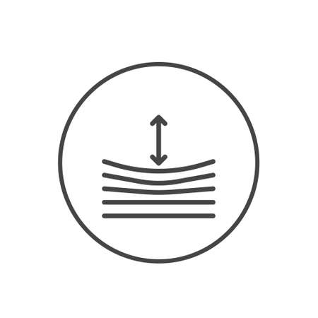 Trend Resilience icon on white background. Vector illustration. Eps 10.