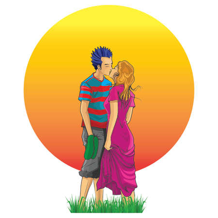 courtship: kiss  twilight