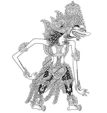 kulit: Prabu Sukrasa Illustration