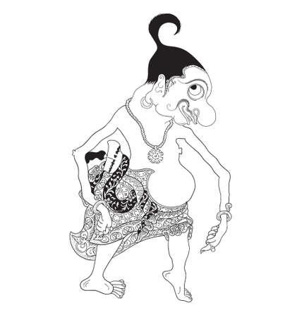 Gareng Illustration