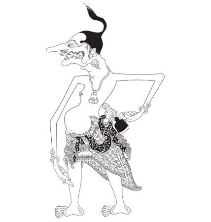 Petruk Illustration