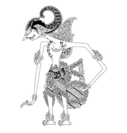 Batara Dewasrani Illustration