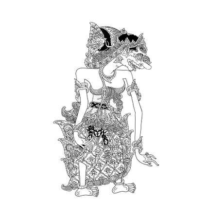 mahabharata: Batari Durga Illustration