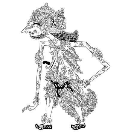 shadow puppets: Batara Surya