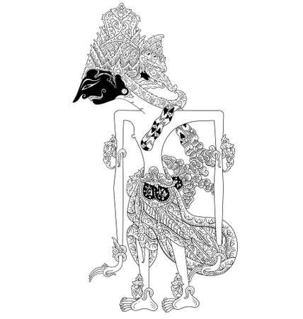kulit: Prabu Janaka Illustration