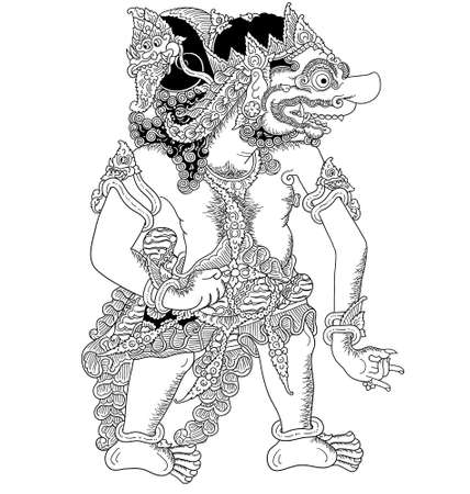 Illustration of a decorative Arimuka.