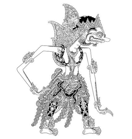 Bogadenta on a white background Illustration