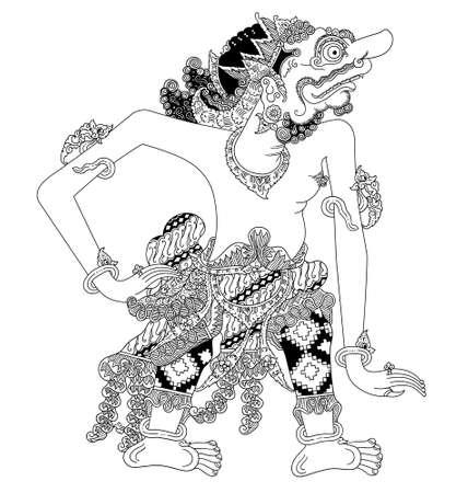 Indonesian character Illustration