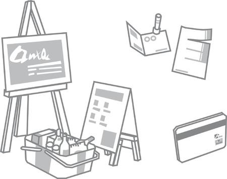 E-commerce shopping vector illustration