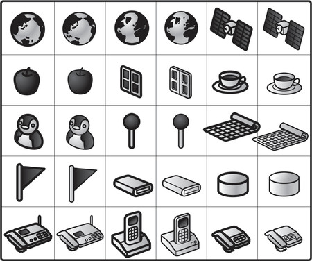 apple computers: Icons for network structure #network2